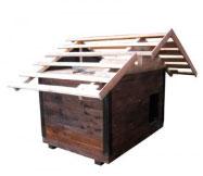 Как сделать крышу будки